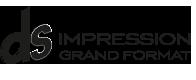 DS Impression grand format- Affiche pas chère 4×3 – 320×240 – 120×176 – Fabricant de PLV