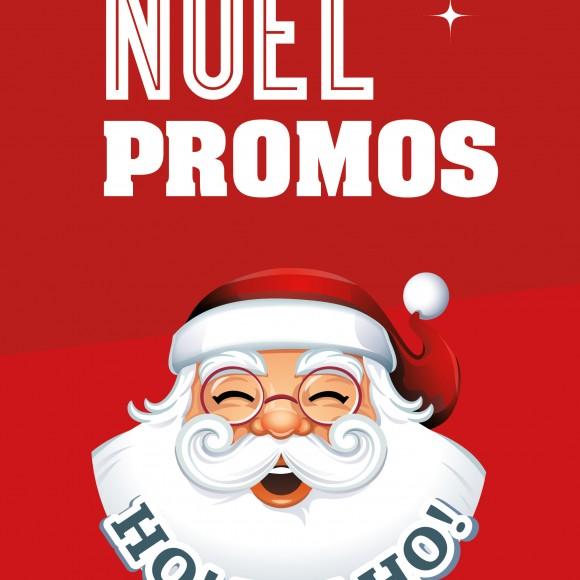 2 affiches «Promos Noël»