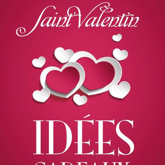 2 Affiches «Idées cadeaux Saint-Valentin» pink