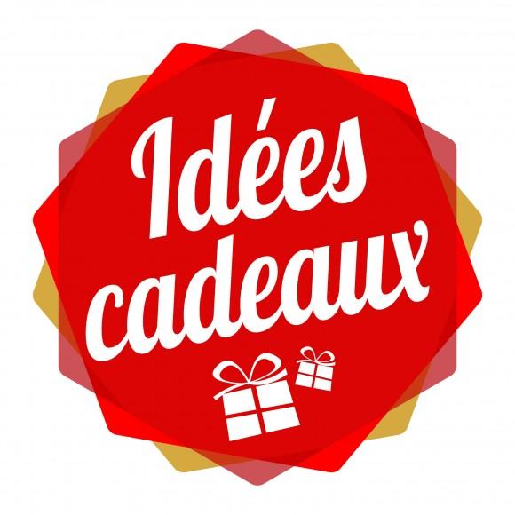 2 vitrophanies «Idées cadeaux»